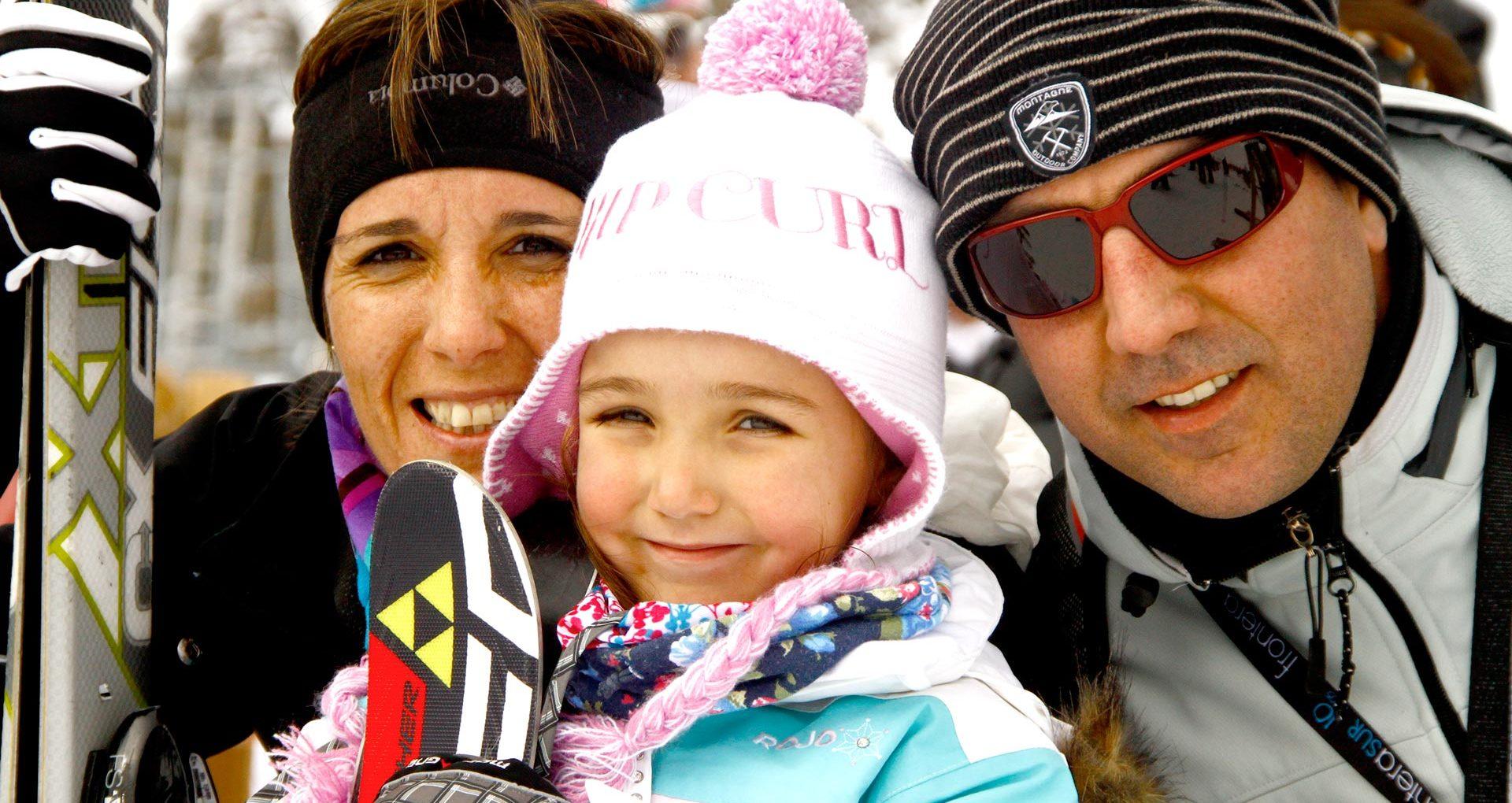 Una semana de esquí para toda la familia!