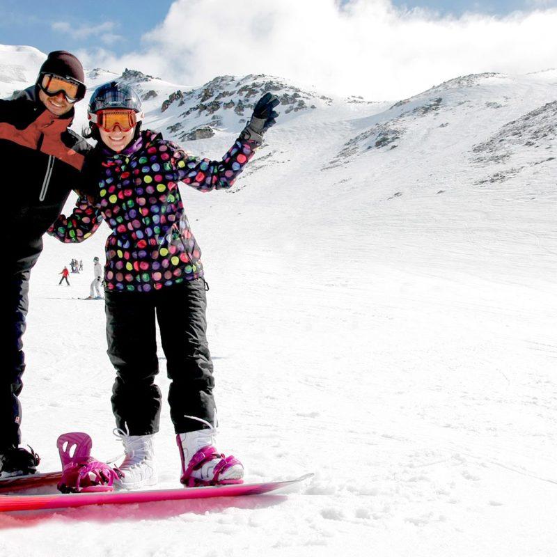 Nuestros Ski Weeks tambien pueden ser snowboard weeks!